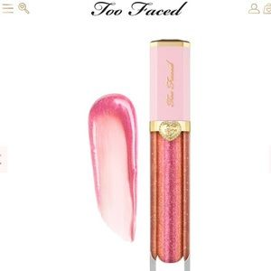 Too Faced Rich & Dazzling Lip Gloss Crazy Rich